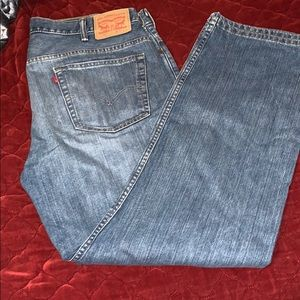 Levi's 569 Loose Straight Fit Jeans 38x32